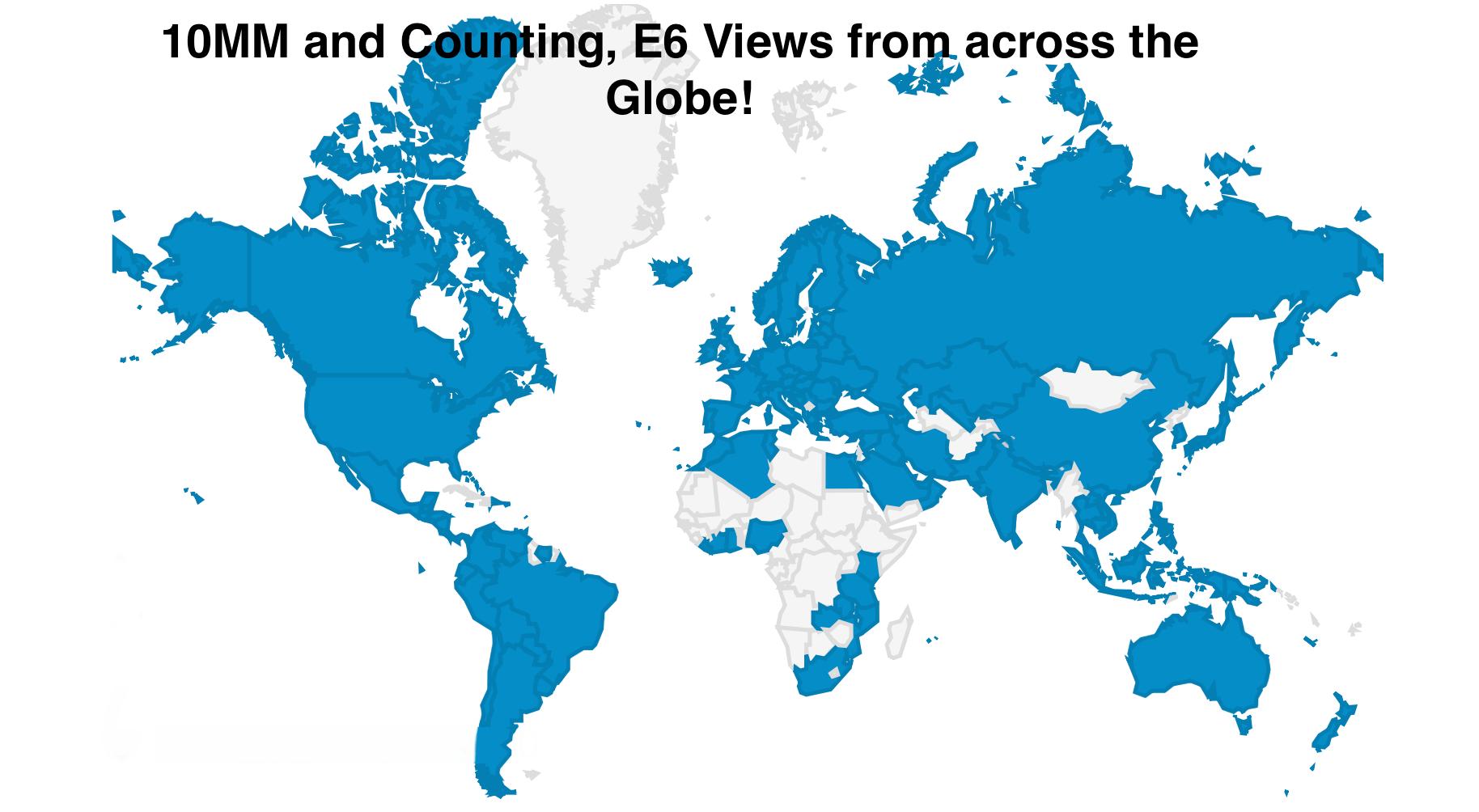 E6 Xinet19 DAM worldwide reach